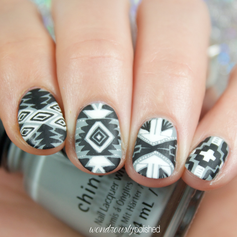 Wondrously Polished: Paint All The Nails Presents Monochrome