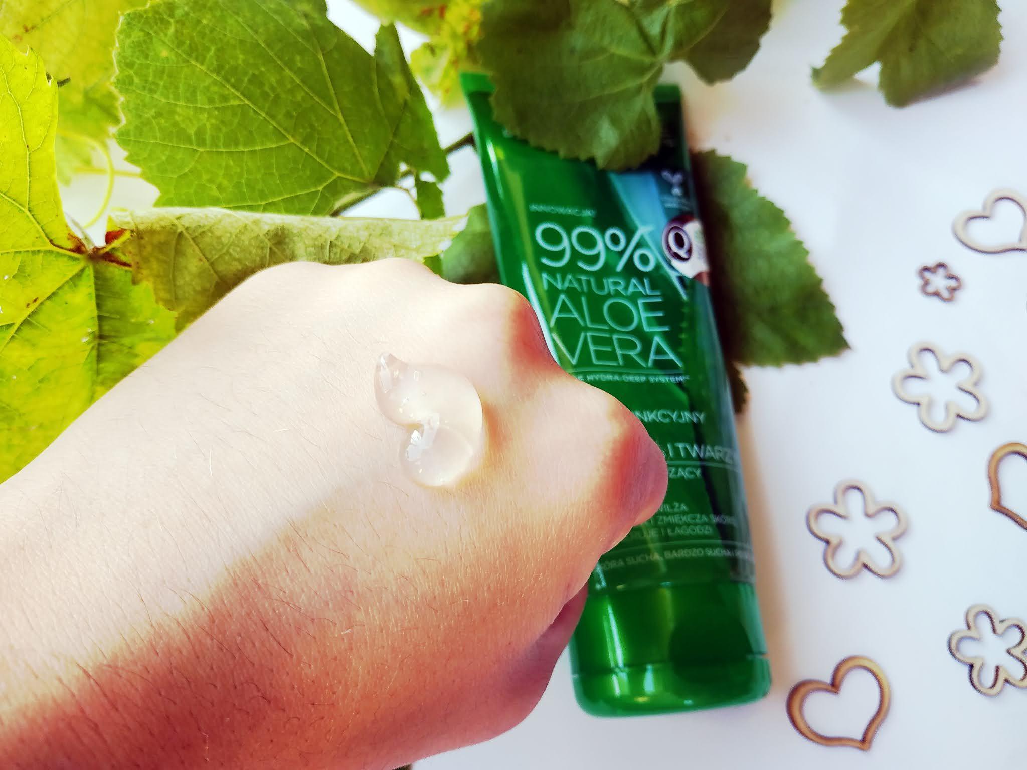 Zapach, konsystencja zel aloesowy eveline skład,cena, dostępność