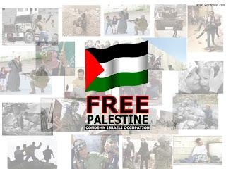 Kunjungan Abdillah Onim (Relawan MER-C Palestina)