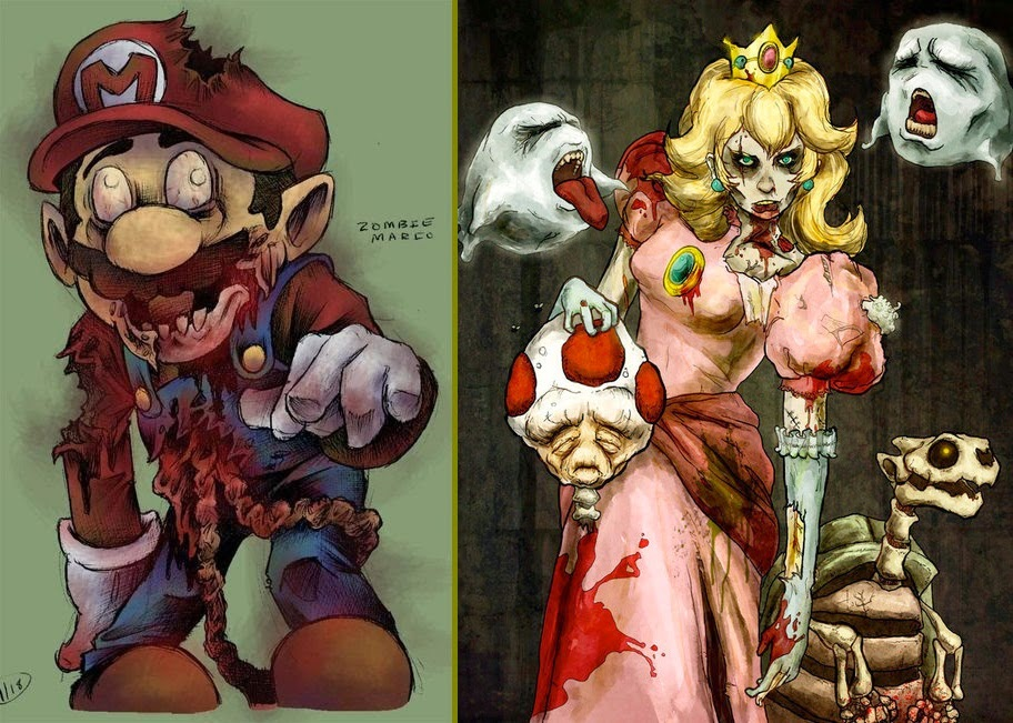 Super Mario Zombie world