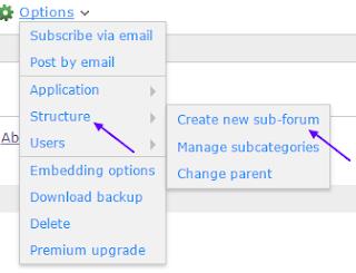 forum customization