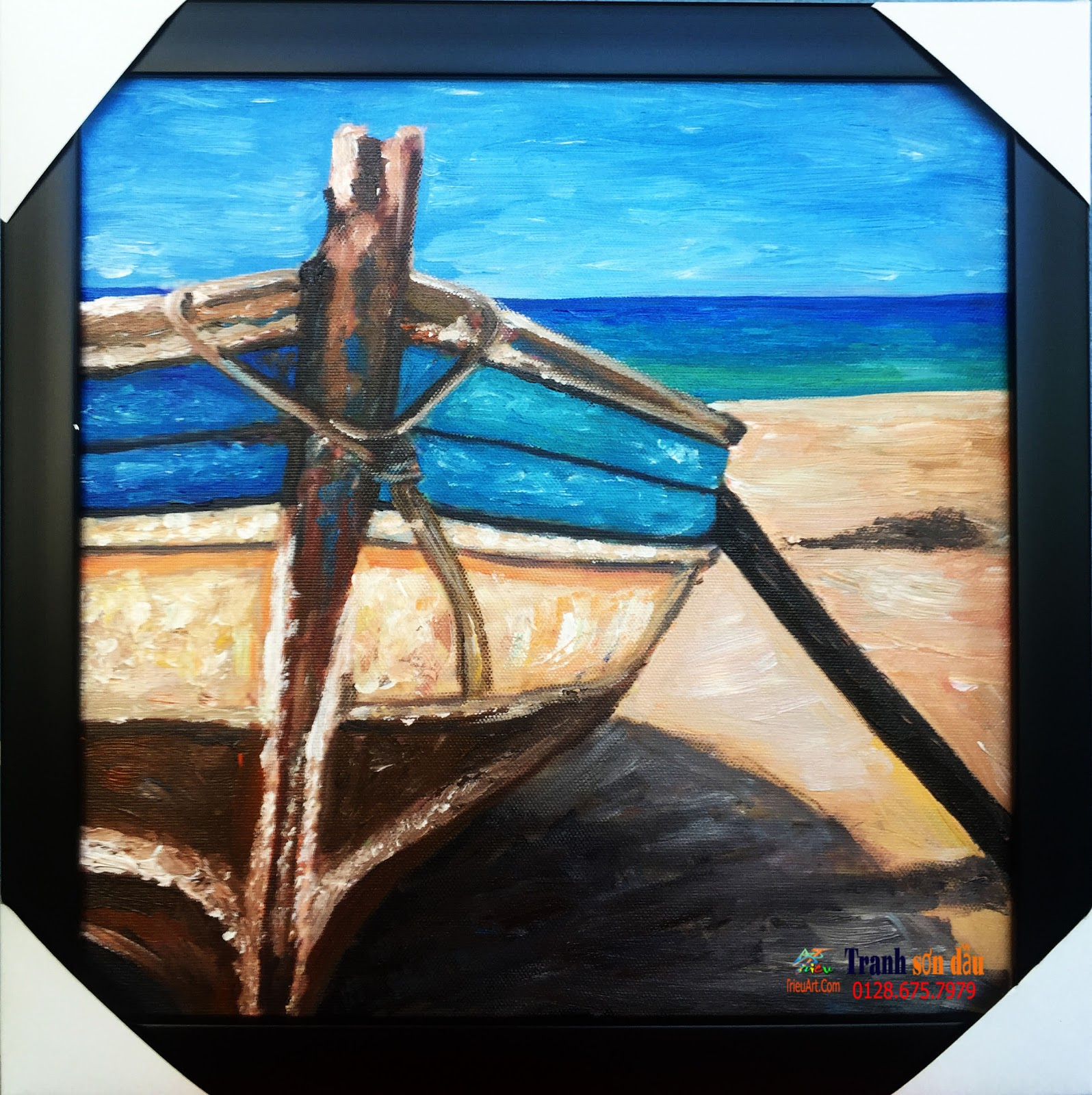 tranh sơn dầu nghệ thuật