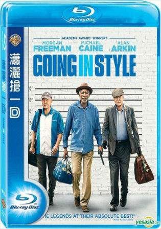 Going in Style 2017 BRRip 300MB English Movie 480p Watch Online Full Movie Download bolly4u