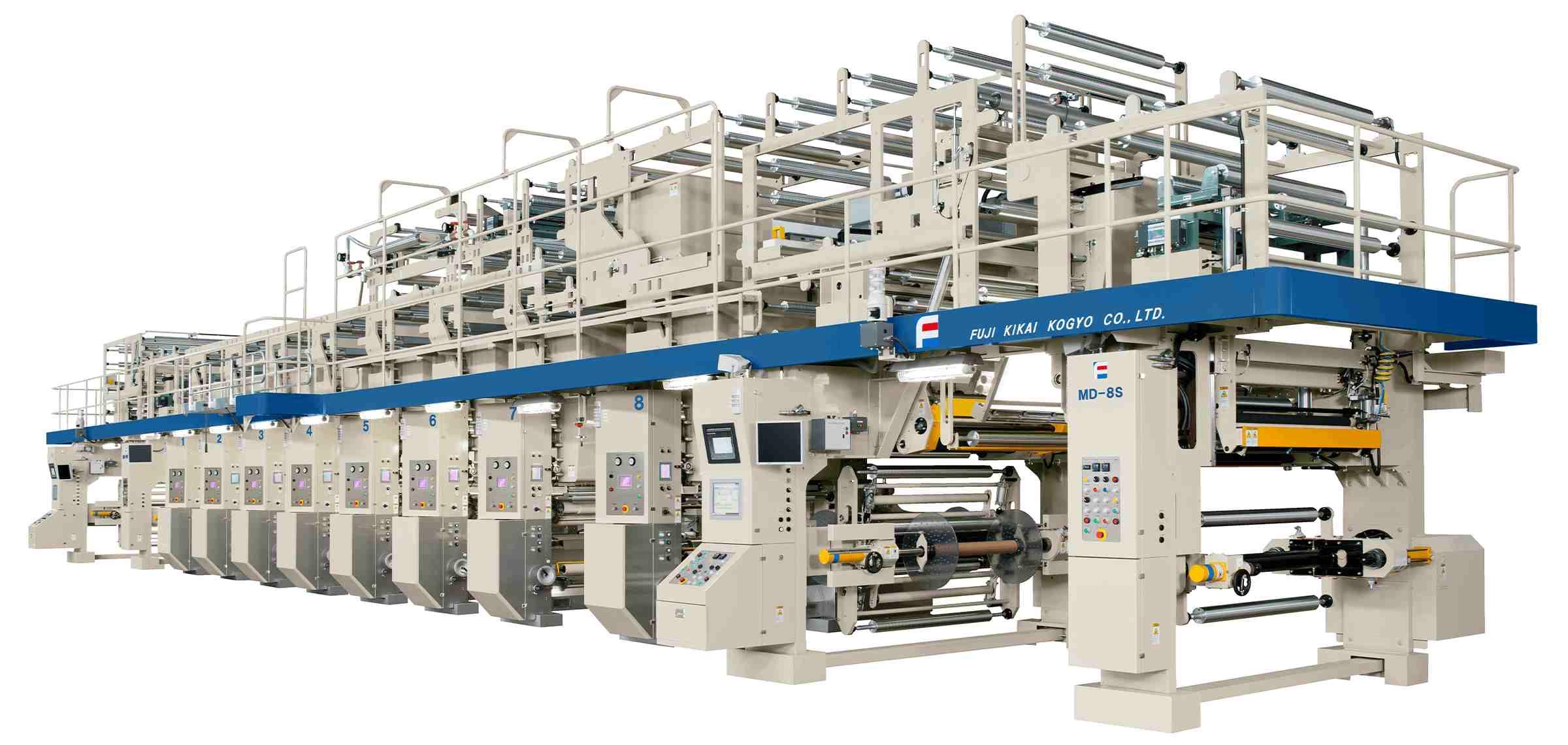 Jual Mesin Printing Rotogravure Berkualitas dengan Harga Terbaik