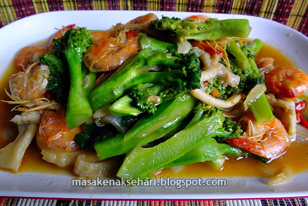 Resep Tumis Brokoli Dan Aneka Sayuran Sehat