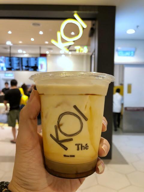 KOI Thé  - 黑糖鲜奶