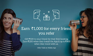 MakeMyTrip - Refer and Earn Up To Rs 1000 Per Friend