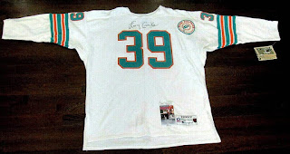 Larry Csonka Miami Dolphins Champion Throwbacks jersey