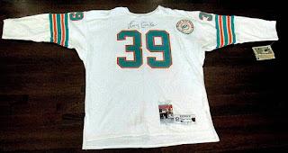 Larry Csonka Miami Dolphins Champion Throwbacks jersey