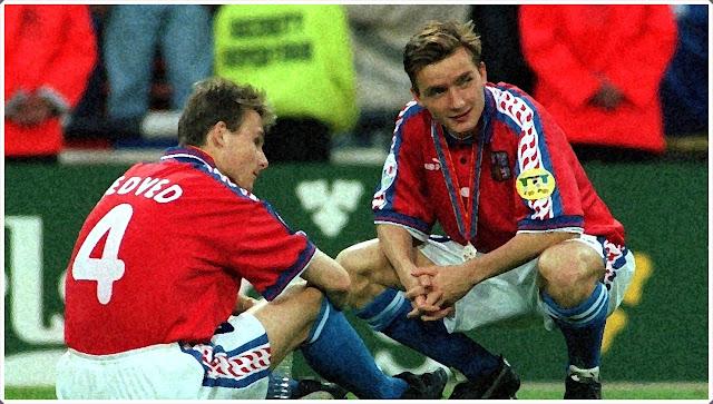 Czech Republic Germany 1996 Nedved
