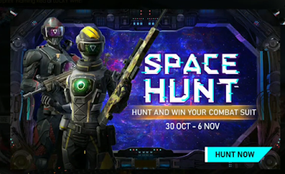 Event Space Hunt FF,  Dapatkan bundle Space Hunt Free Fire