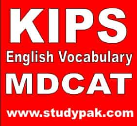UHS MDCAT English vocabulary book PDF by KIPS