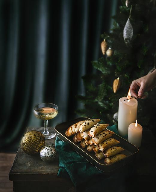 Recette de Noël avec du fromage Vegan