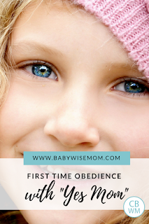 """How to Get Your Child to Obey with a Simple """"Yes Mom"""". This is a simple solution to get first time obedience."""