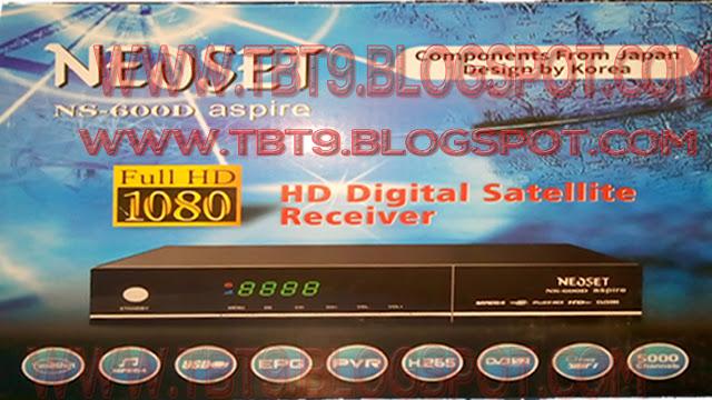 NEOSAT ASPIRA NS-600D HD RECEIVER POWERVU KEY TEN SPORTS OK NEW SOFTWARE