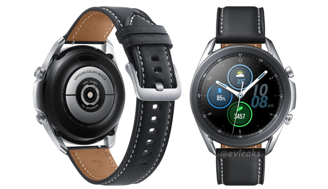 The first high quality look at Samsung Galaxy Watch 3!