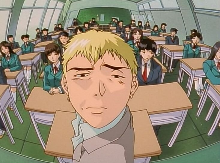 great teacher onizuka in class