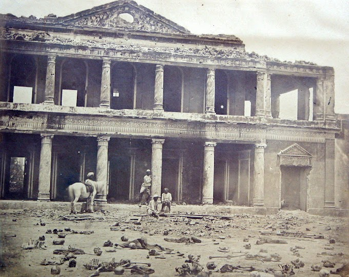 Rare Photos Of Indian Mutiny / Sepoy Mutiny / Indian Rebellion / Uprising Of 1857