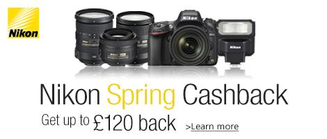 Nikon Spring 2014 Cashback