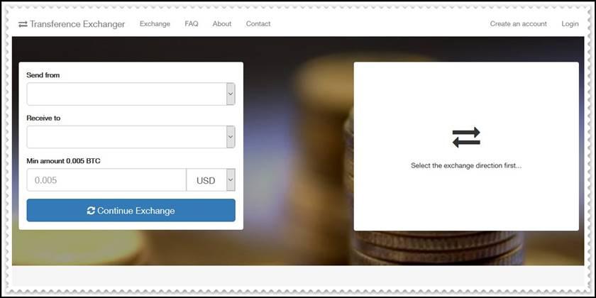[Лохотрон] transference.live, bitcoinprices.top – Отзывы? Очередная фальшивая система обмена денег