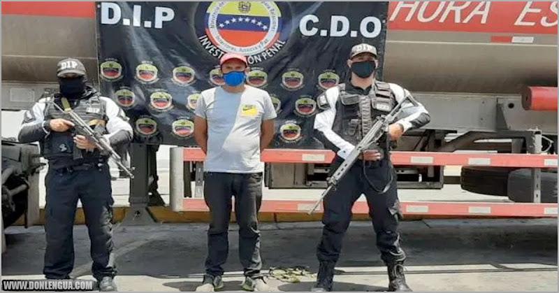 Camión de gasolina que era para El Coqui fue descubierto por la policía