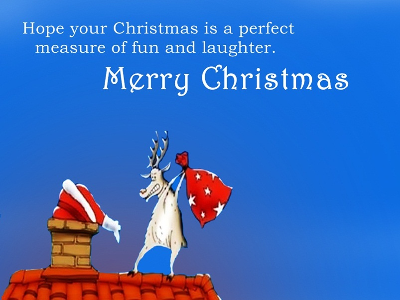 Xmas Funny Quotes Image