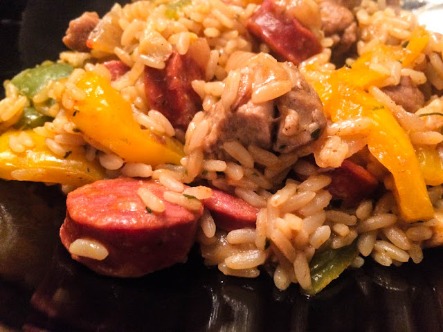 spicy pork and rice hairy bikers