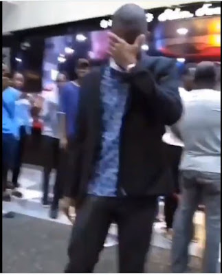 Lady Slaps Her Boyfriend After Refusing Her Proposal After 6 Years In Relationship (VIDEO)