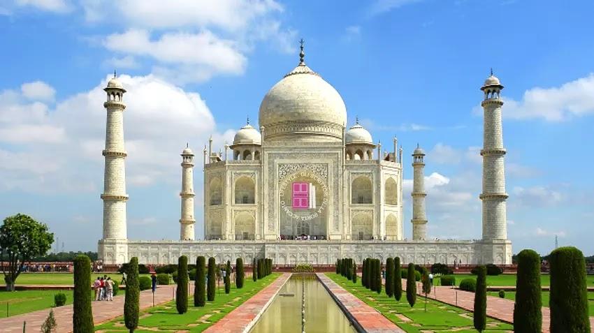 Il Taj Mahal ad Agra, in India