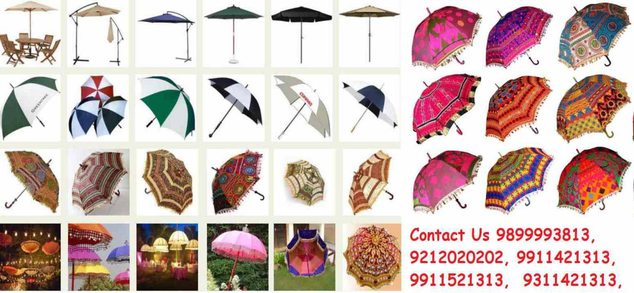 rajasthani jaipuri wedding decorative umbrellas