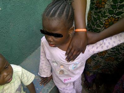 3 year old girl raped at Adeniji Adele (Photos)