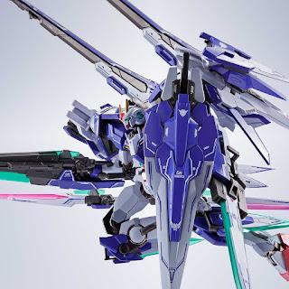 Metal Robot Spirit 00 Gundam XN Raiser + Seven Sword + GN Sword II Blaster Set