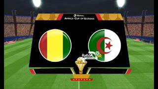 مشاهدة مباراة  الجزائر وغينيا بث مباشر 07/07/2019 كأس أمم أفريقيا 2019