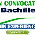 GRAN CONVOCATORIA LABORAL BACHILLERES CON Y SIN EXPERIENCIA