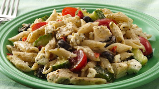Mediterranean Chicken and Pasta Recipe