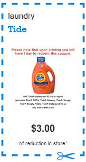 printable coupons go to P&G