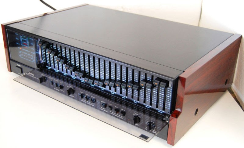 rewind audio for sale denon de 70 precision stereo graphic equalizer eq mint. Black Bedroom Furniture Sets. Home Design Ideas