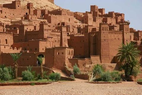 Kasbah: castles of old Morocco.