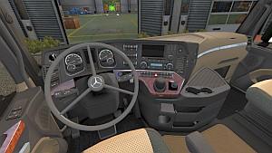 Vabis steering wheel for Mercedes MP4