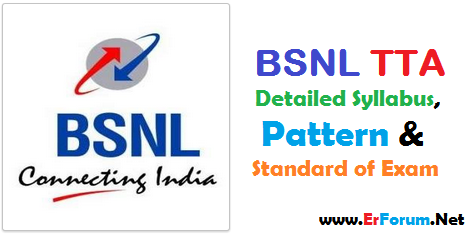 bsnl-tta-syllabus-pattern-standard