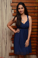 Radhika Mehrotra in a Deep neck Sleeveless Blue Dress at Mirchi Music Awards South 2017 ~  Exclusive Celebrities Galleries 070.jpg