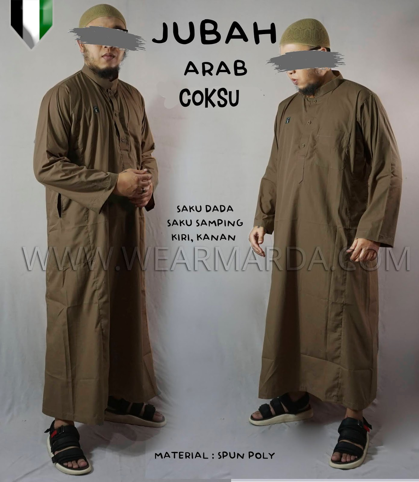 JUBAH ARAB COKSU