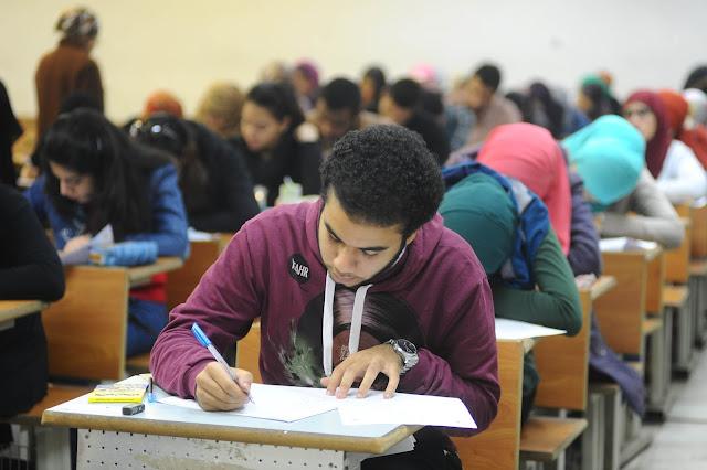 تسريب امتحانات الشهادة الاعدادية