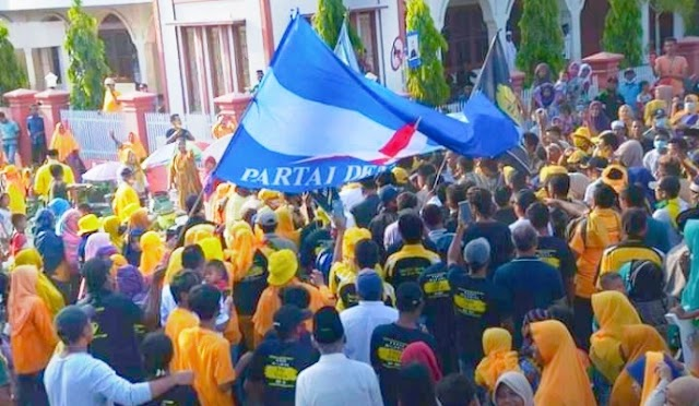 Kampanye di Belo Selatan, IDP-Dahlan Disesaki Massa Pendukung