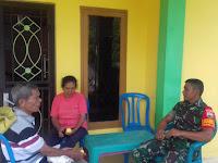 Tingkatkan Silaturahmi, Babinsa 01/Su  Komsos bersama Warga Binaan