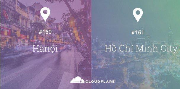 data centers cloudflare xuat hien tai viet nam