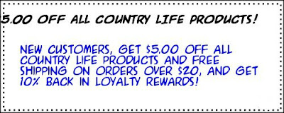 Iherb coupon Country Life