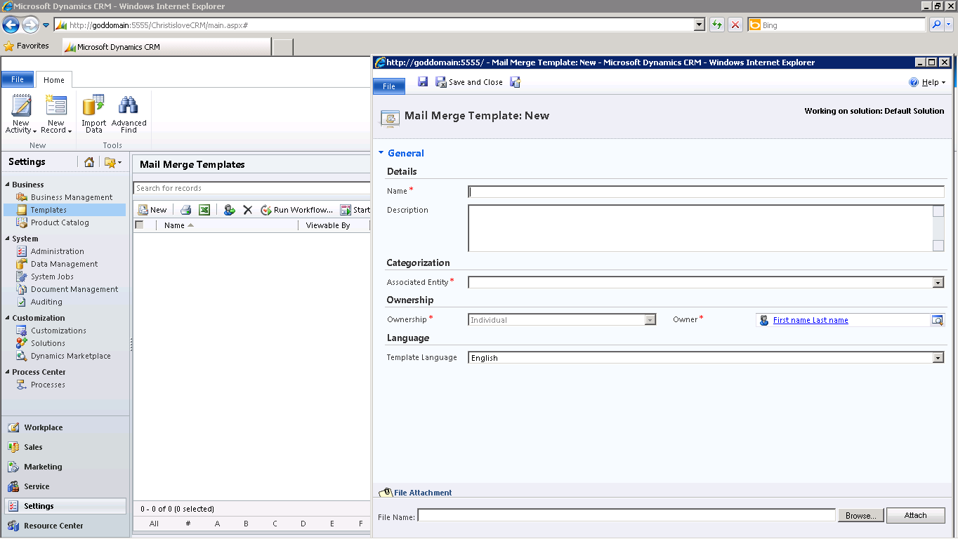 Dynamics Crm Step By Step Setup And Configuration