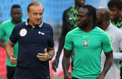 """Victor Moses Has To Find Motivation Within Himself To Be Part Of The Super Eagles"" - Rohr"