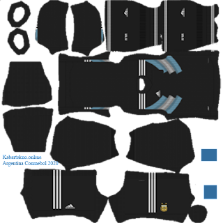 Argentina 2019/2020 Kit Dream League Soccer 2020